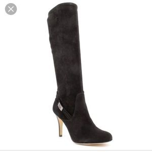 •MAKE OFFER• COACH SEUDE BRAELYN $399 RETAIL BOOTS